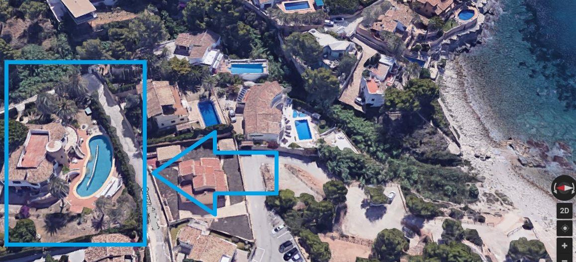 CHALET CON VISTAS AL MAR. 4000 m2 de parcela.